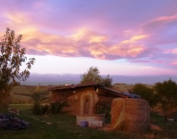 Cabane sous ciel