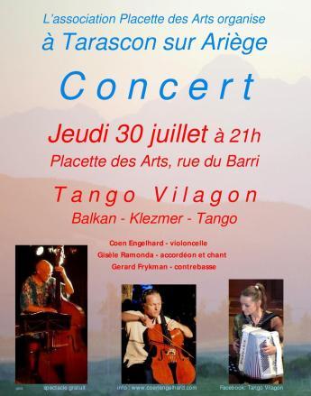 Concert 30 juillet Tarascon