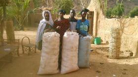 Distribution de coton