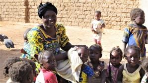 Djeneba et les enfants