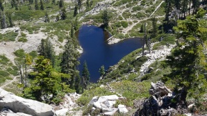 16 juin (2) Heart lake Mt Shasta
