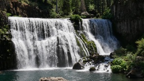 McCloud waterfalls